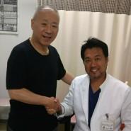 坂本聖二さんと整形外科医・杉本和隆医師